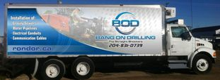 Bang On Drilling truck