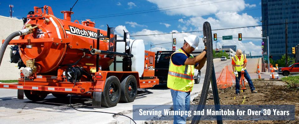 Serving Winnipeg and Manitoba for over 30 years | hydro excavator